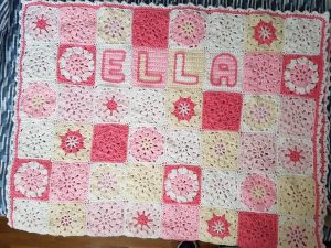 Crocheted Blanket for Ella