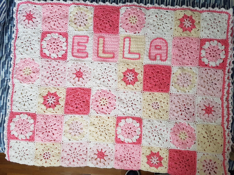 Crocheted Blanket for Ella