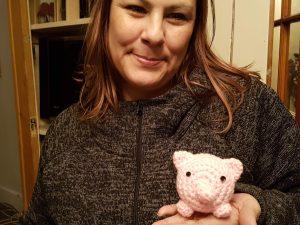 Crocheted Piggy