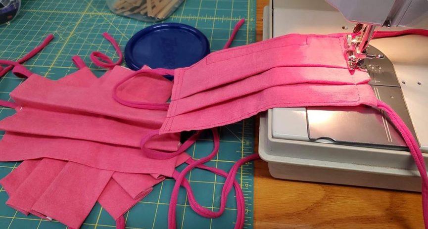 sewing cloth masks