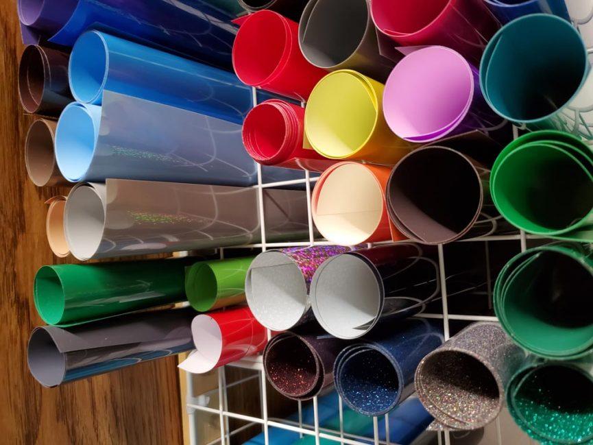craft vinyl storage